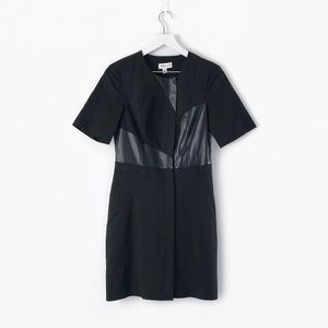 3.1 phillip lim x target faux leather panel dress